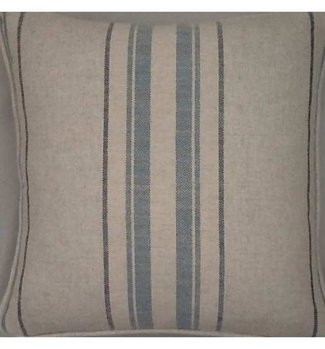 A 16 Inch Cushion Cover In Laura Ashley Hadley Seaspray Fabric
