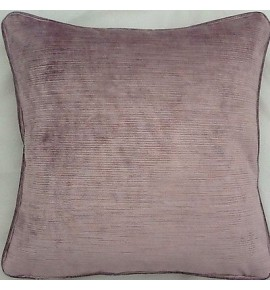 A 18 Inch Cushion Cover In Laura Ashley Villandry Amethyst Fabric