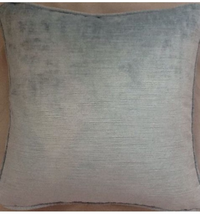 A 16 Inch Cushion Cover In Laura Ashley Villandry SeaSpray Velvet Fabric