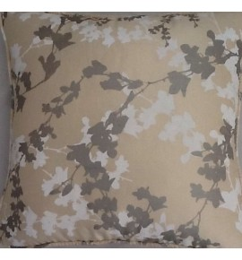 A 16 Inch Laura Ashley cushion Cover In Hawthorne Natural Silk fabric