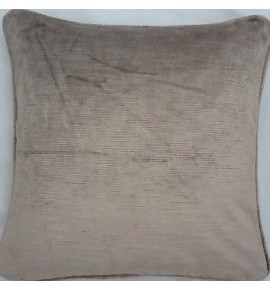 2 X 16 Inch Cushions And Inners In Villandry Truffle Velvet Fabric