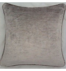 A 20 Inch Cushion Cover In Laura Ashley Villandry French Grey Velvet Fabric