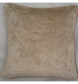 2 X 16 Inch Cushion And Inners In Laura Ashley Villandry Champagne Velvet Fabric